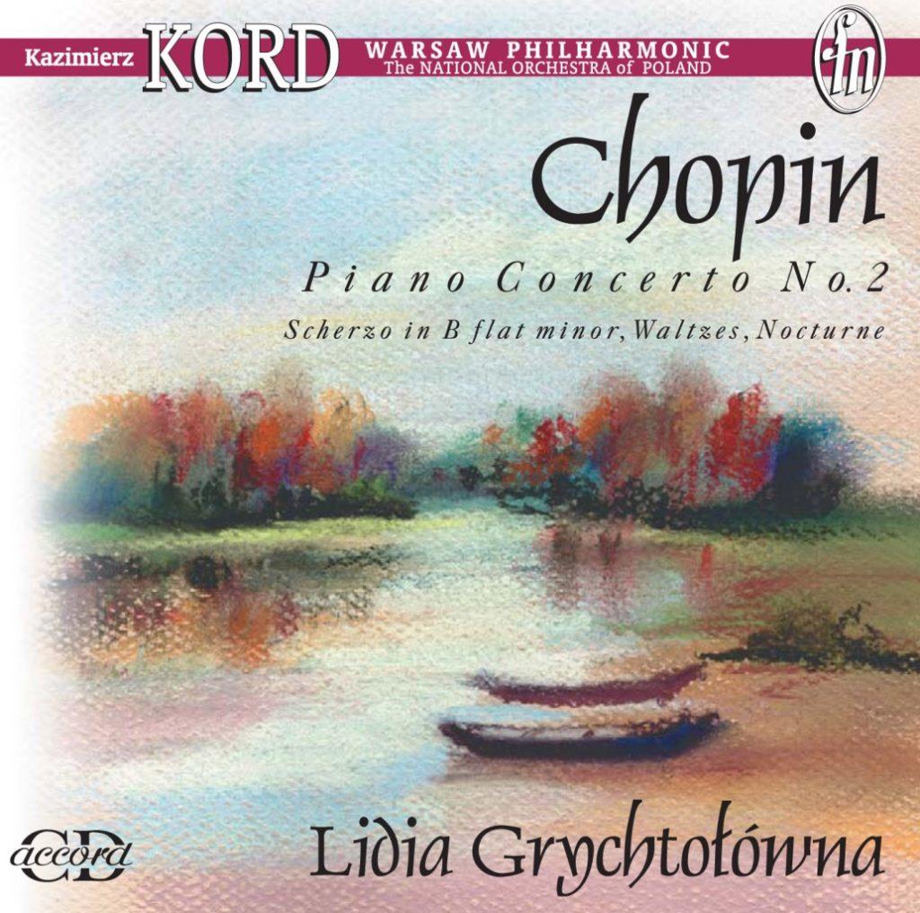 okładka płyty Lidia Grychtołówna gra Chopina