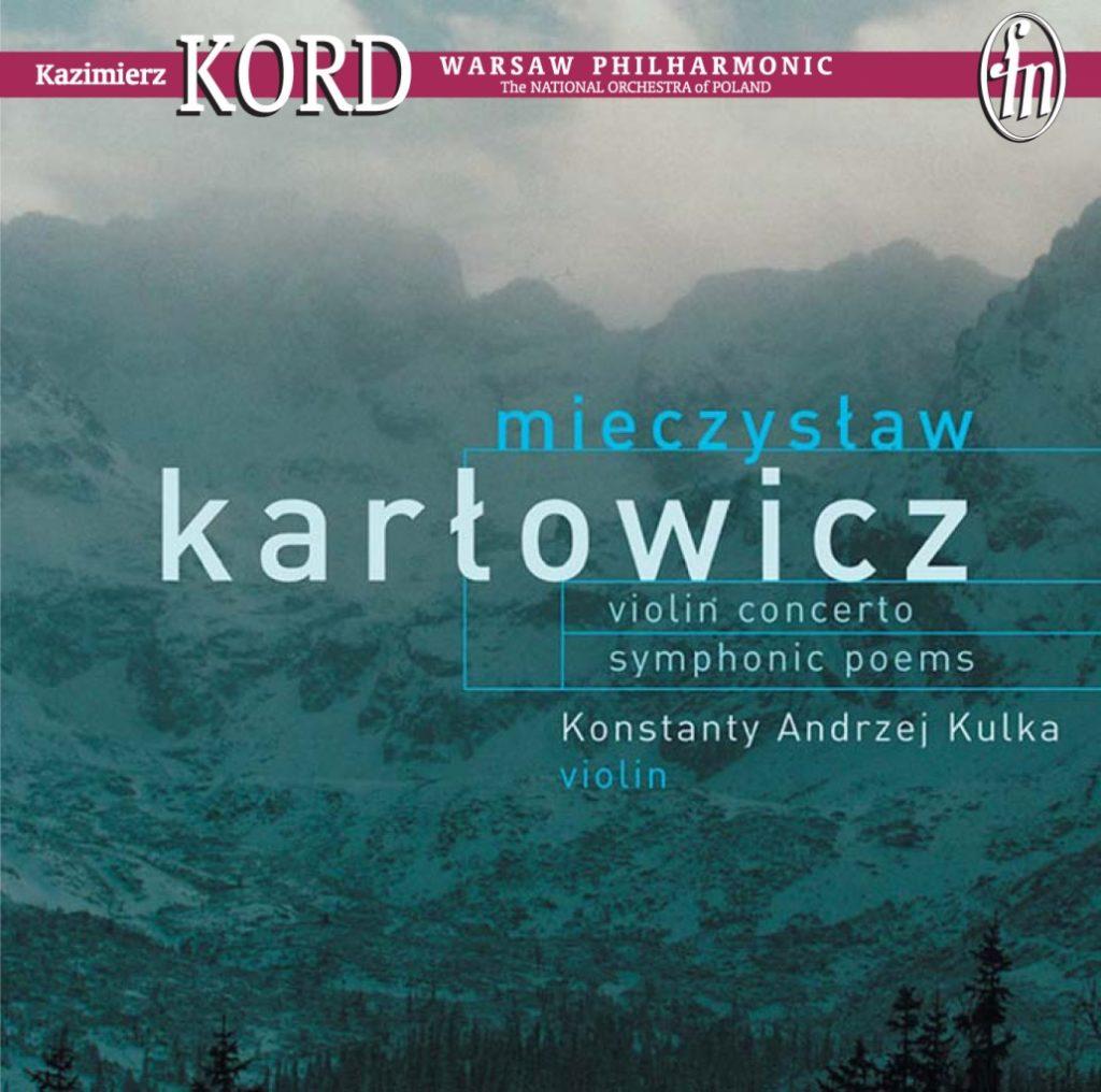 okładka płyty Koncert skrzypcowy, Poematy symfoniczne