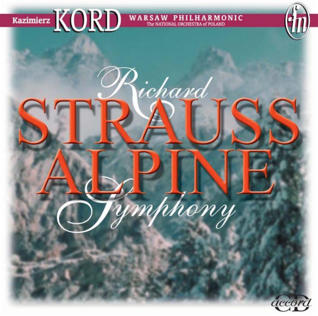okładka płyty Eine Alpensinfonie Op. 64