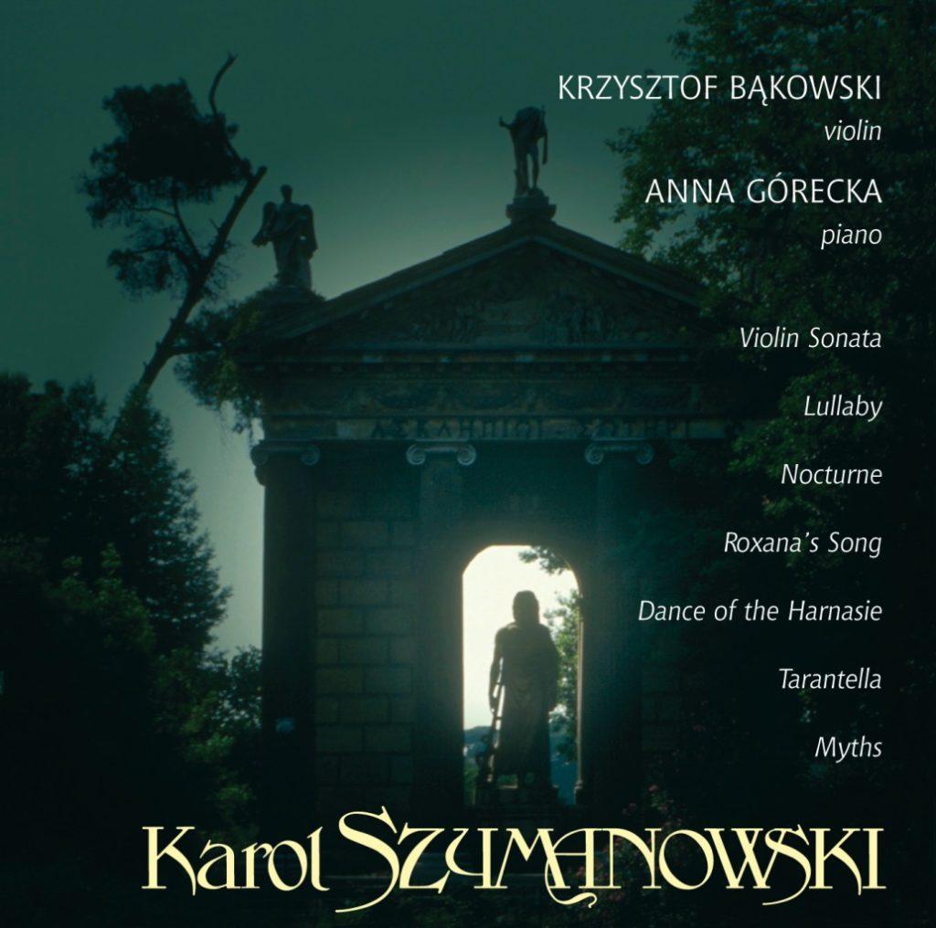 okładka płyty Skrzypce Szymanowskiego