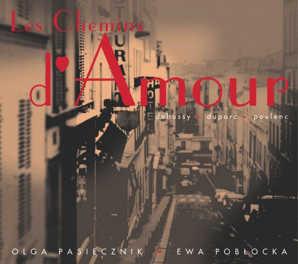okładka płyty Les Chemins d\'Amour
