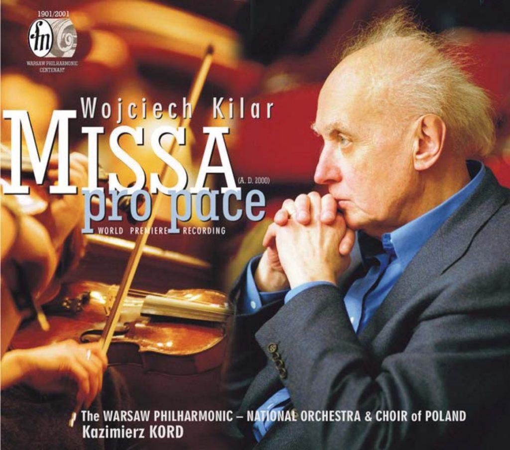 okładka płyty Wojciech Kilar - Missa pro pace