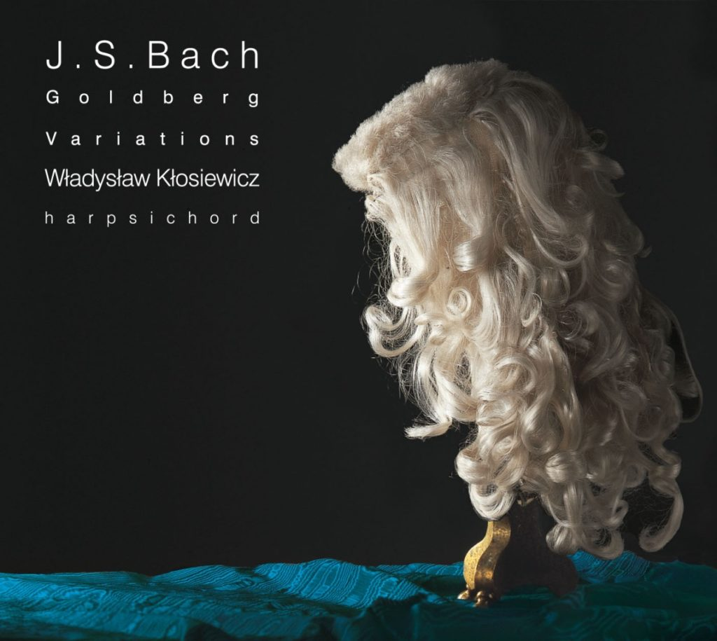 okładka płyty W. Kłosiewicz - J. S. Bach - Wariacje Goldbergowskie