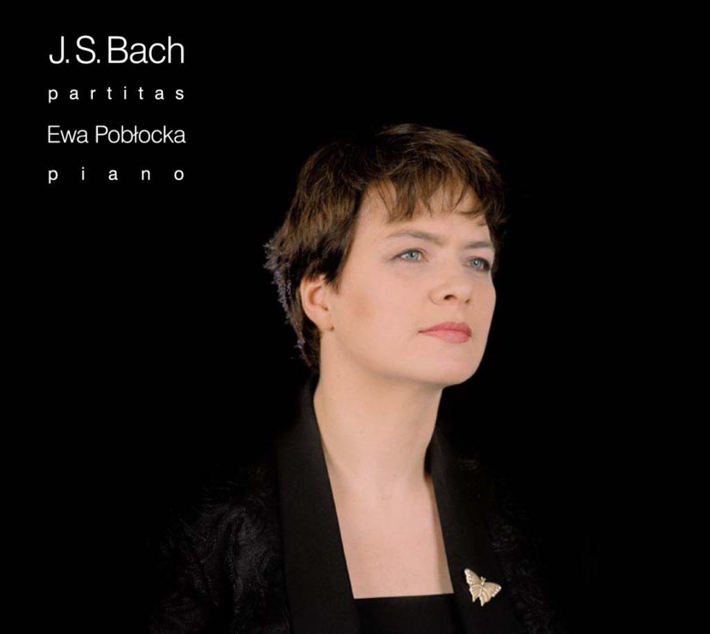 okładka płyty Ewa Pobłocka - J. S. Bach - Partity