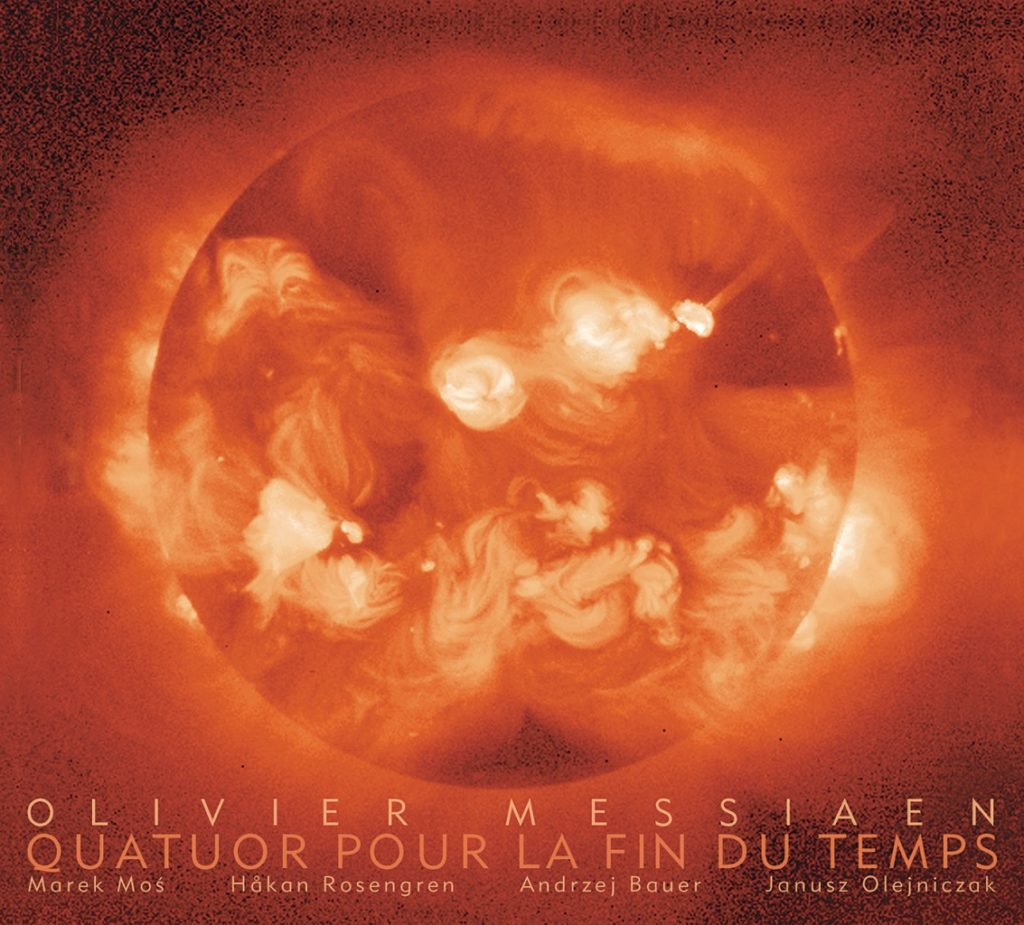 okładka płyty Quatuor Pour la fin du Temps