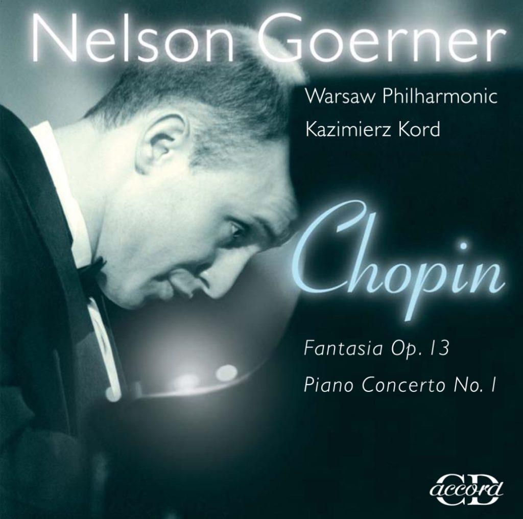okładka płyty Nelson Goerner live w Filharmonii Narodowej w Warszawie
