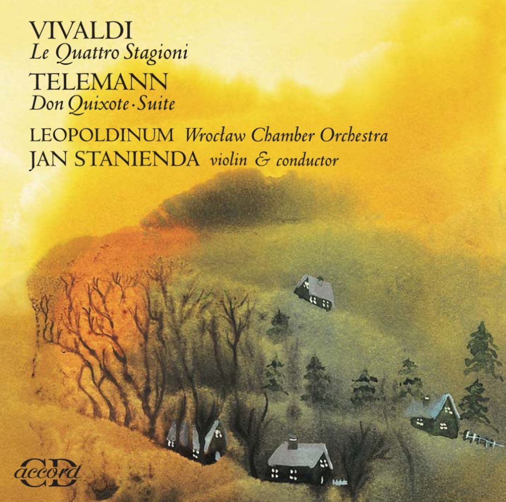 okładka płyty Le Quattro Stagioni, Suita Don Quixote