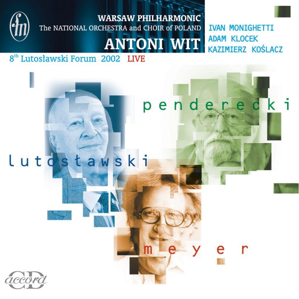 okładka płyty VIII Forum Lutosławskiego