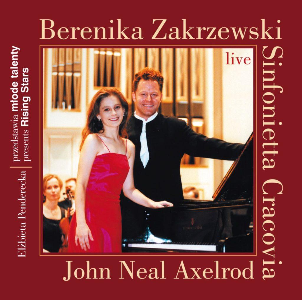 okładka płyty III Koncert fortepianowy c-moll op. 37, I Symfonia C-dur op. 21