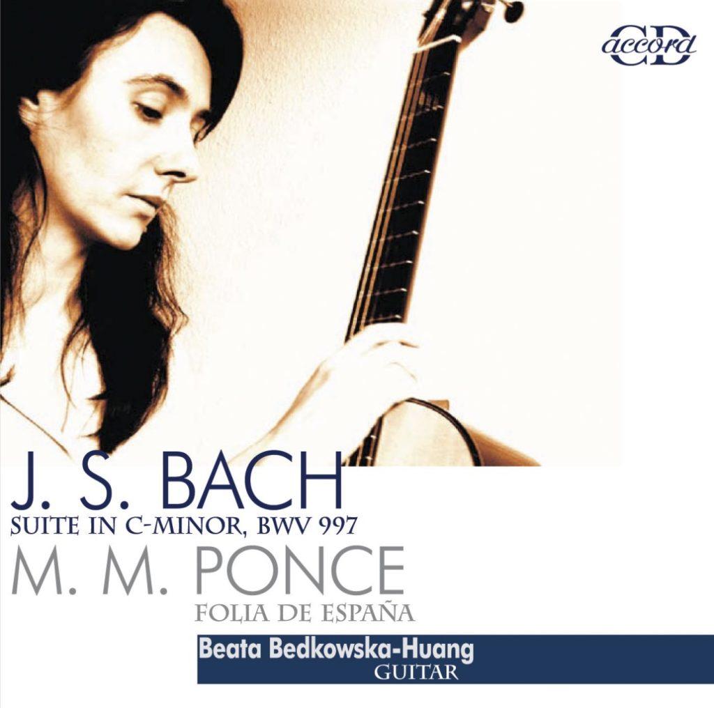 okładka płyty Suita c-moll, BWV 997, Folia de Espana