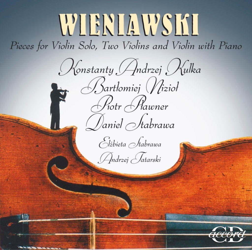 okładka płyty Utwory na skrzypce solo, dwoje skrzypiec i skrzypce z fortepianem