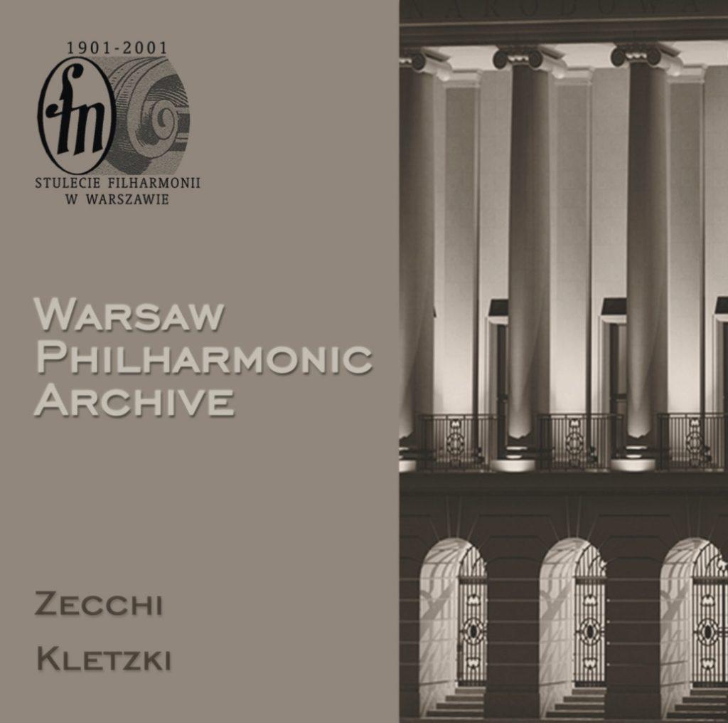 okładka płyty Archiwum Filharmonii Narodowej, CD #1