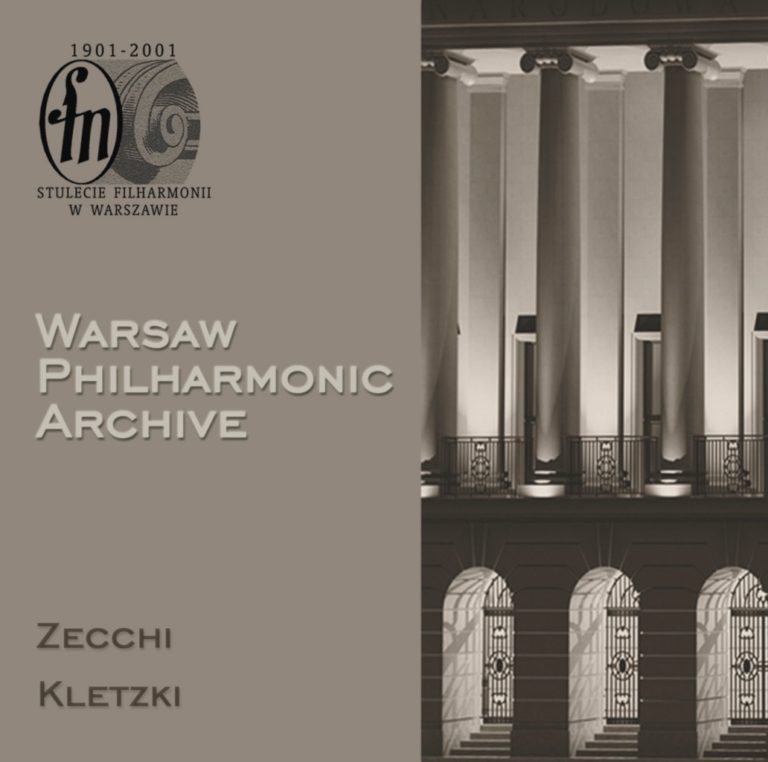 Warsaw Philharmonic Archive, CD #1