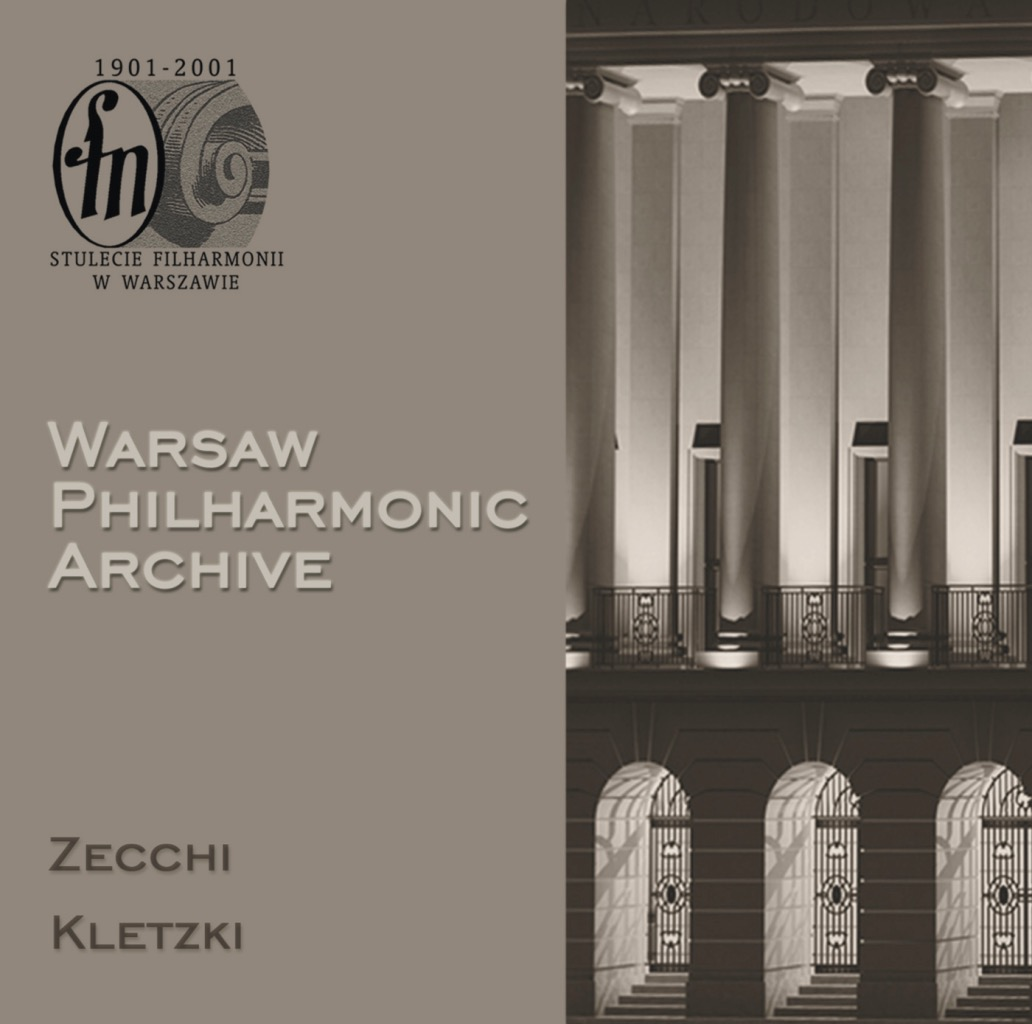 Warsaw Philharmonic Archive, CD #1