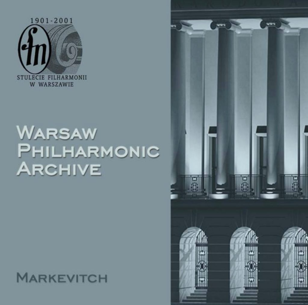 okładka płyty Archiwum Filharmonii Narodowej, CD #2