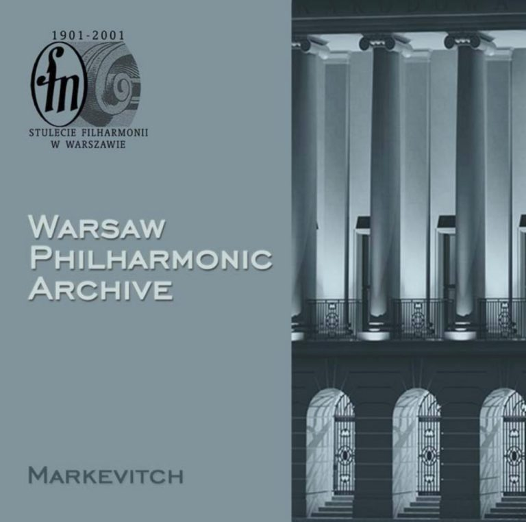 Warsaw Philharmonic Archive, CD #2