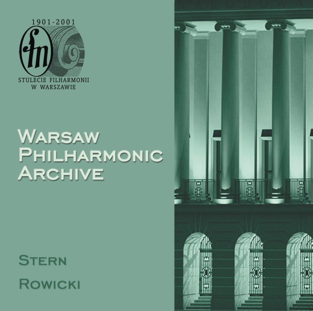 okładka płyty Archiwum Filharmonii Narodowej, CD #4