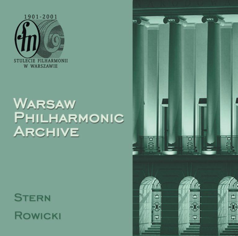 Warsaw Philharmonic Archive, CD #4