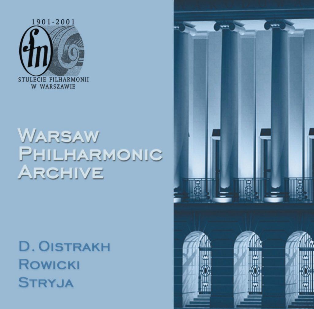 okładka płyty Archiwum Filharmonii Narodowej, CD #5