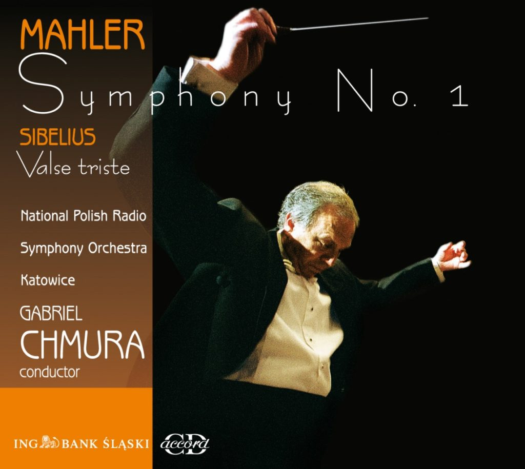 okładka płyty Mahler - Pierwsza Symfonia Sibelius - Valse triste