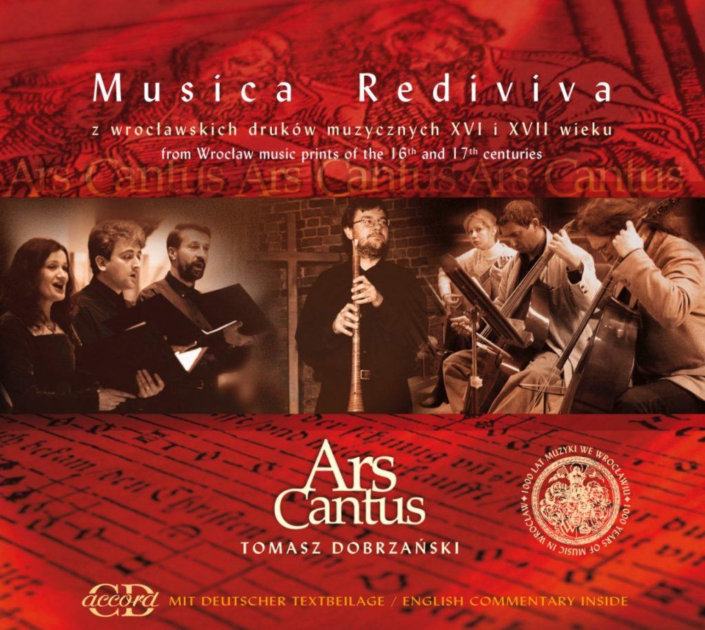 okładka płyty Musica Rediviva