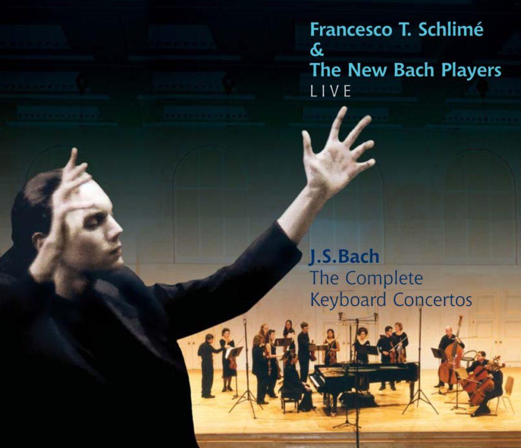 okładka płyty Koncerty na instrument klawiszowy i smyczki