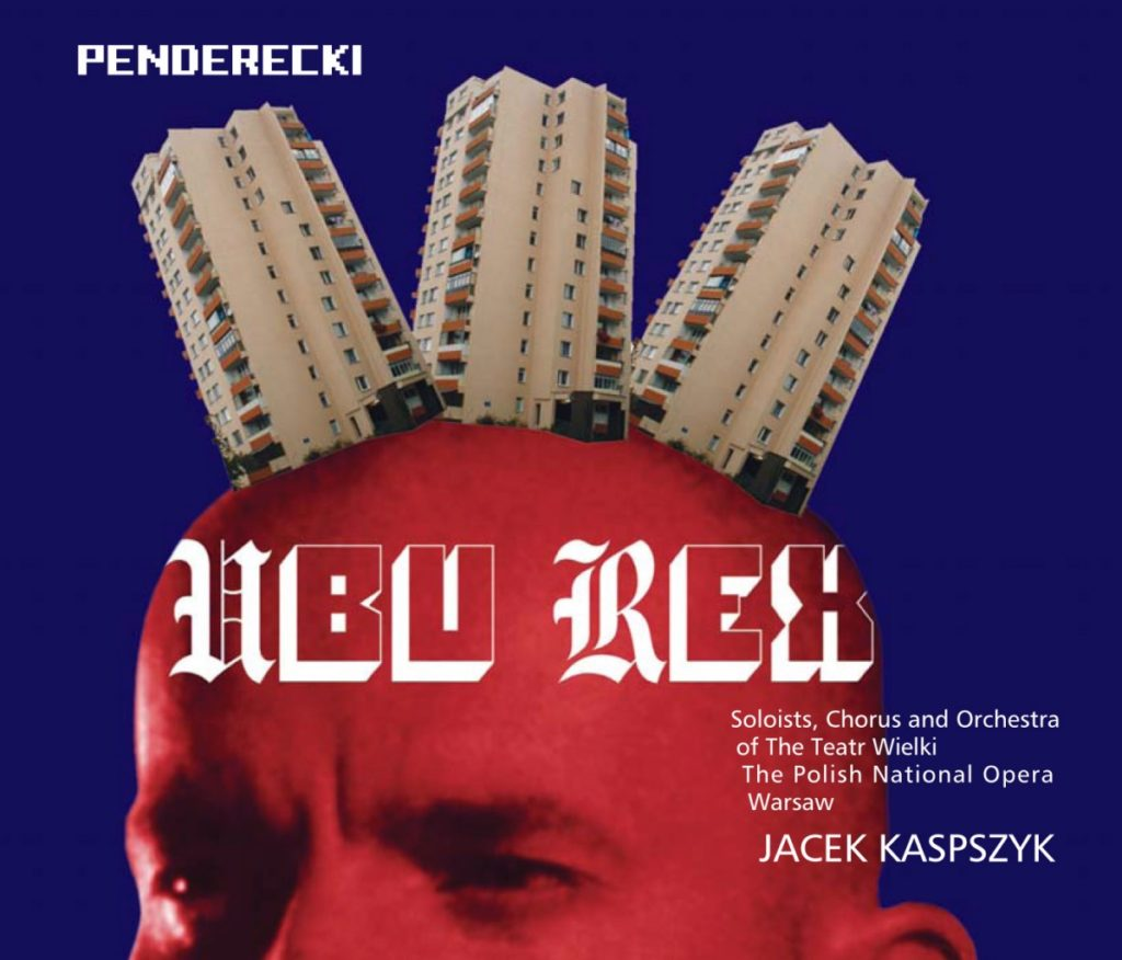 okładka płyty K. Penderecki - Ubu Rex