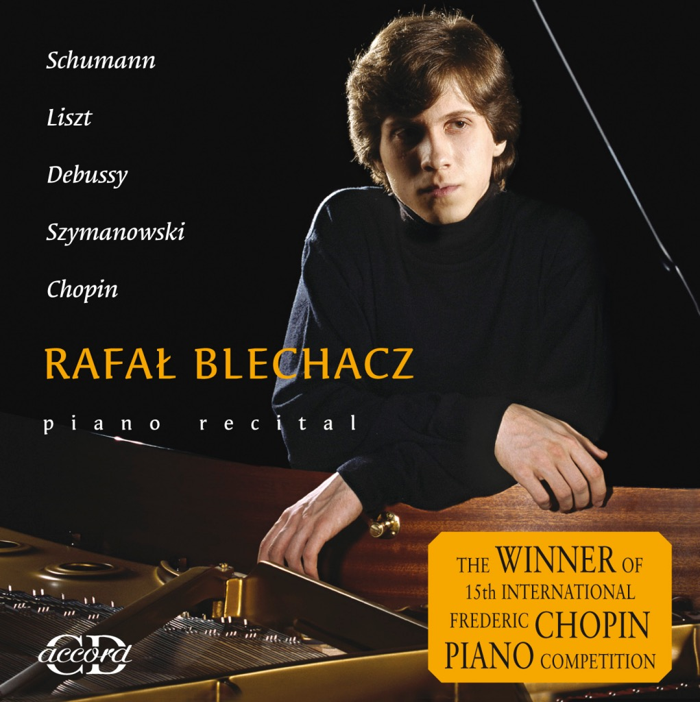 okładka płyty piano recital