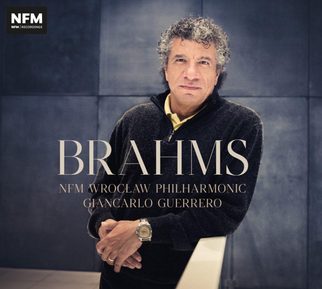 okładka płyty Brahms