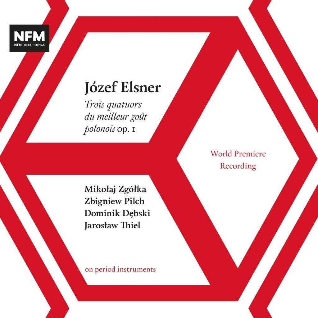 okładka płyty Józef Elsner – Trois quatuors du meilleur goût polonois