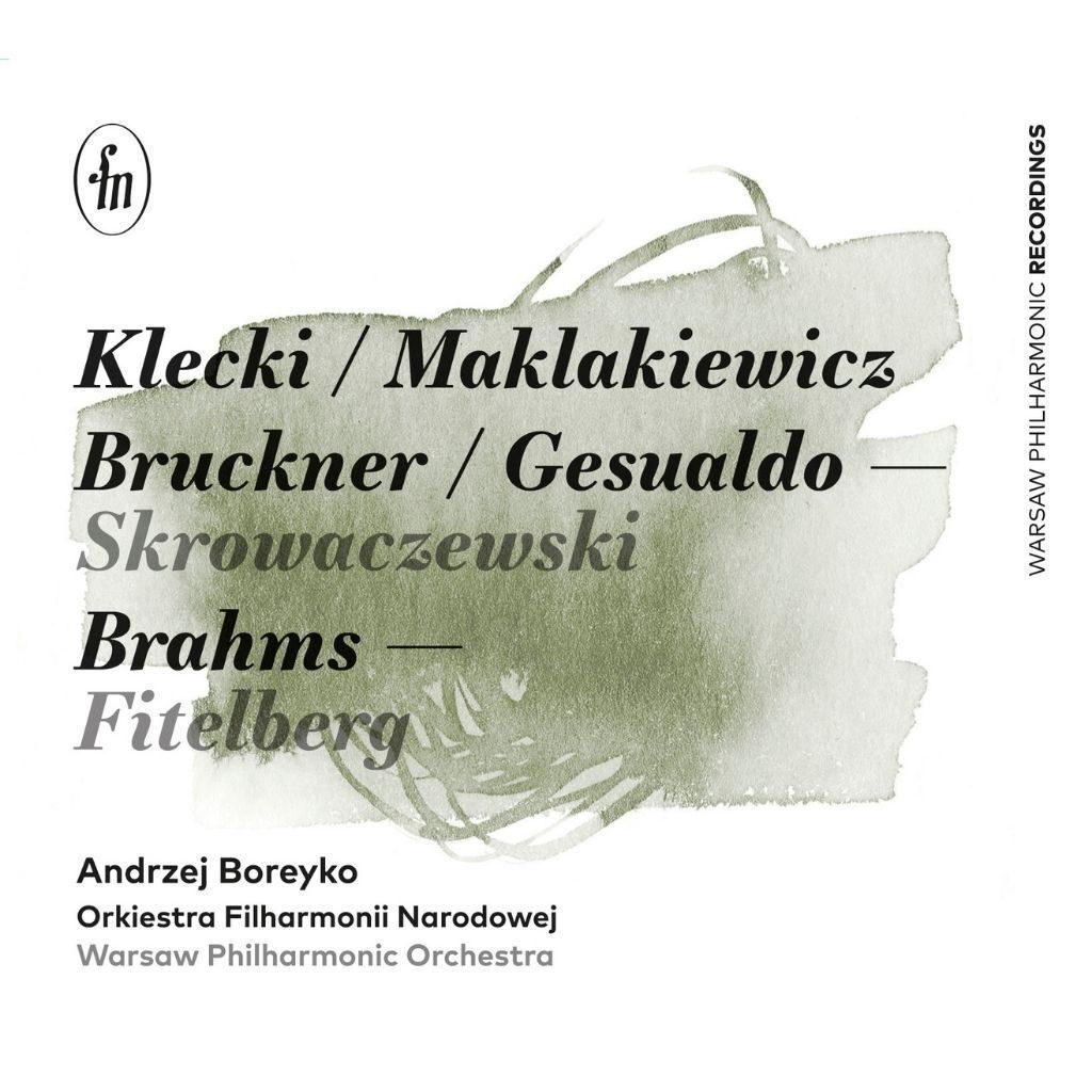 Okładka płyty Boreyko/Pasiecznik/Orkiestra Filharmonii Narodowej