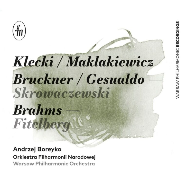 Read more about the article Boreyko/Pasiecznik/Warsaw Philharmonic Orchestra